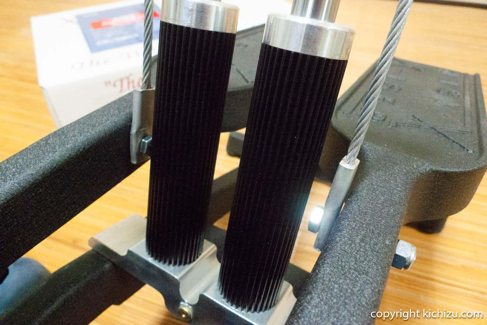 エクサーのステッパー油圧シリンダーヒートシンク部分