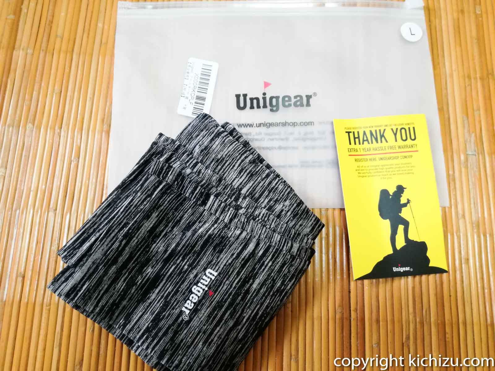 Unigear アームカバー 腕カバーの付属品一覧