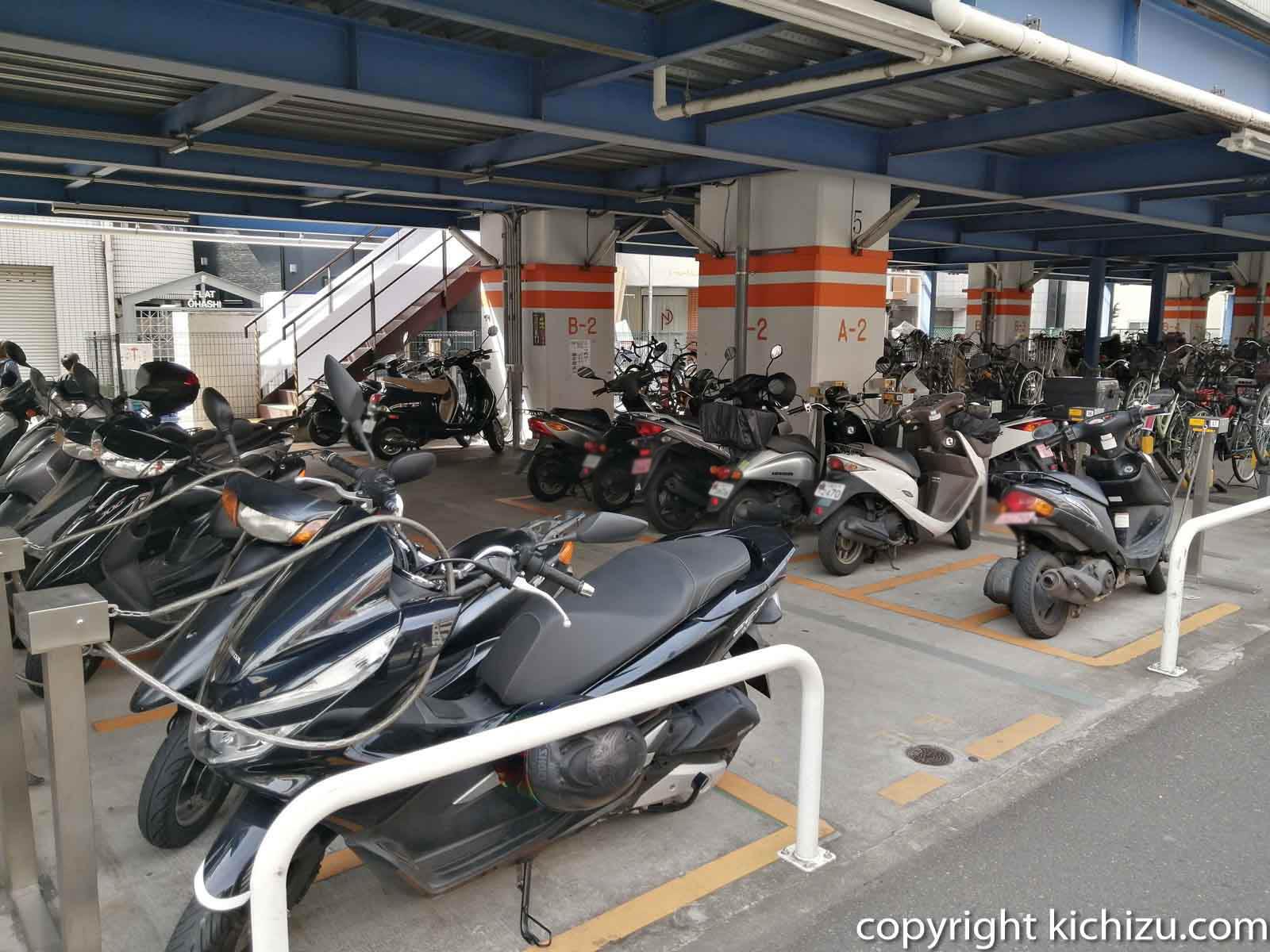 JKS サイクルパーク武蔵新城駐輪場内1