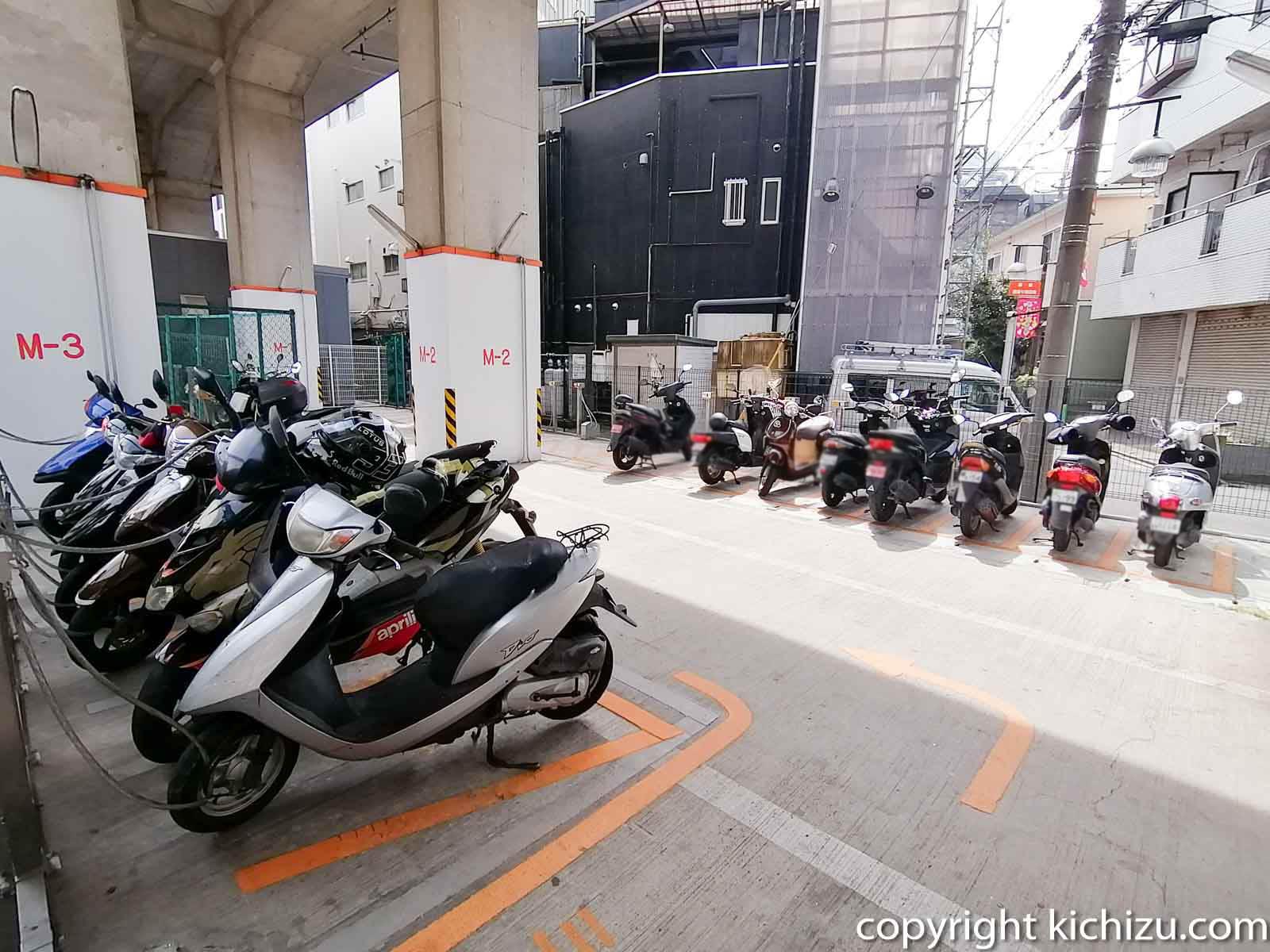 JKS サイクルパーク武蔵新城駐輪場内2