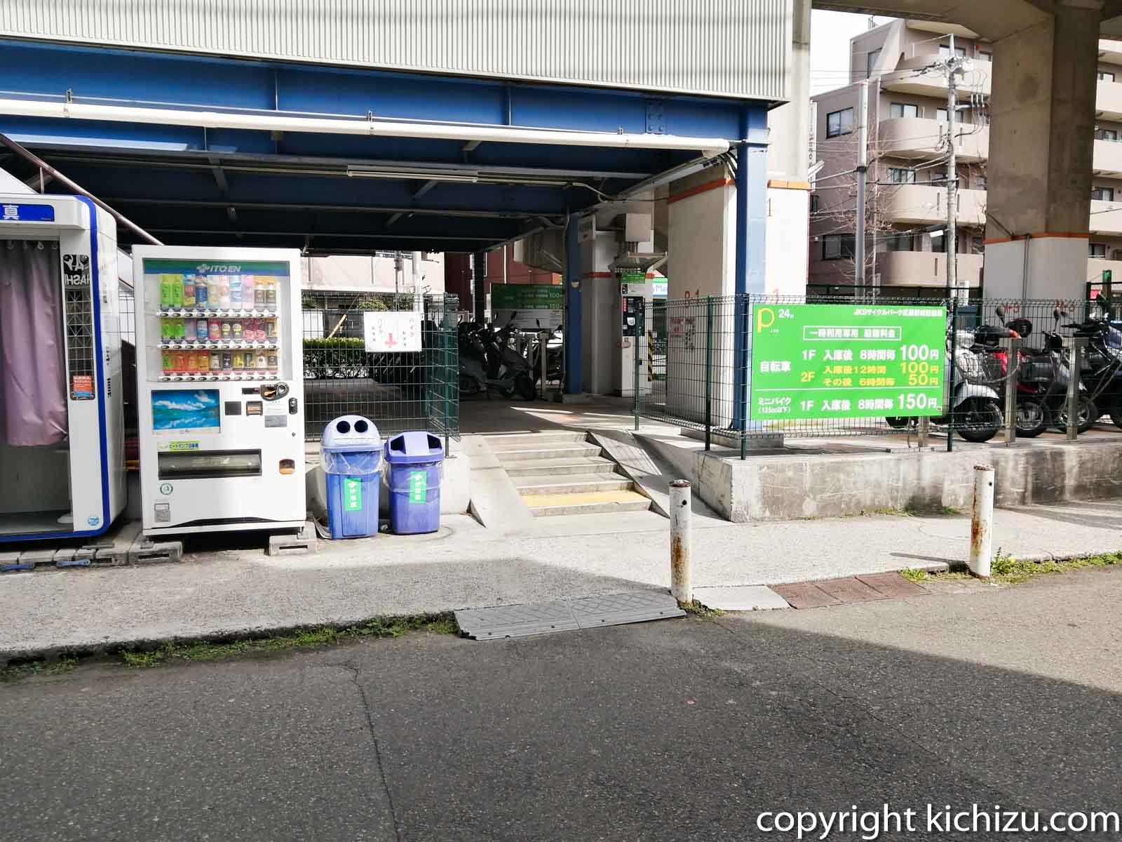JKS サイクルパーク武蔵新城駐輪場