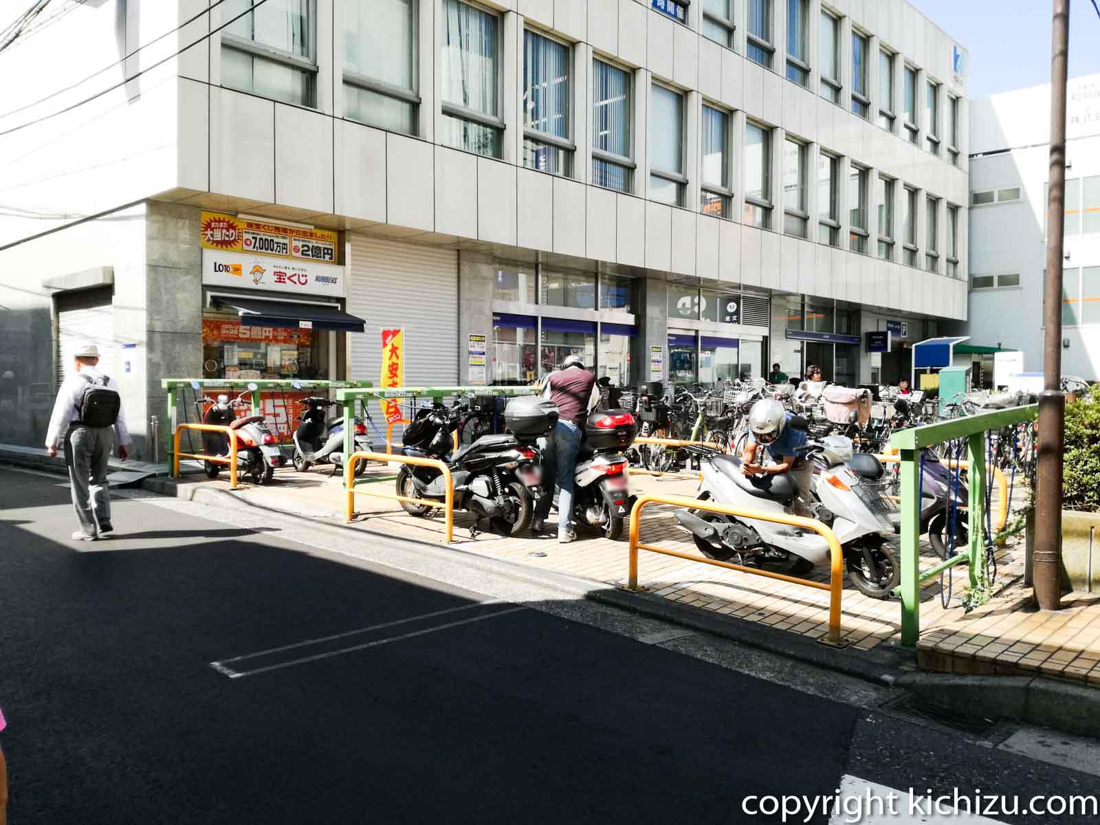 鶴見駅周辺のバイク駐車場