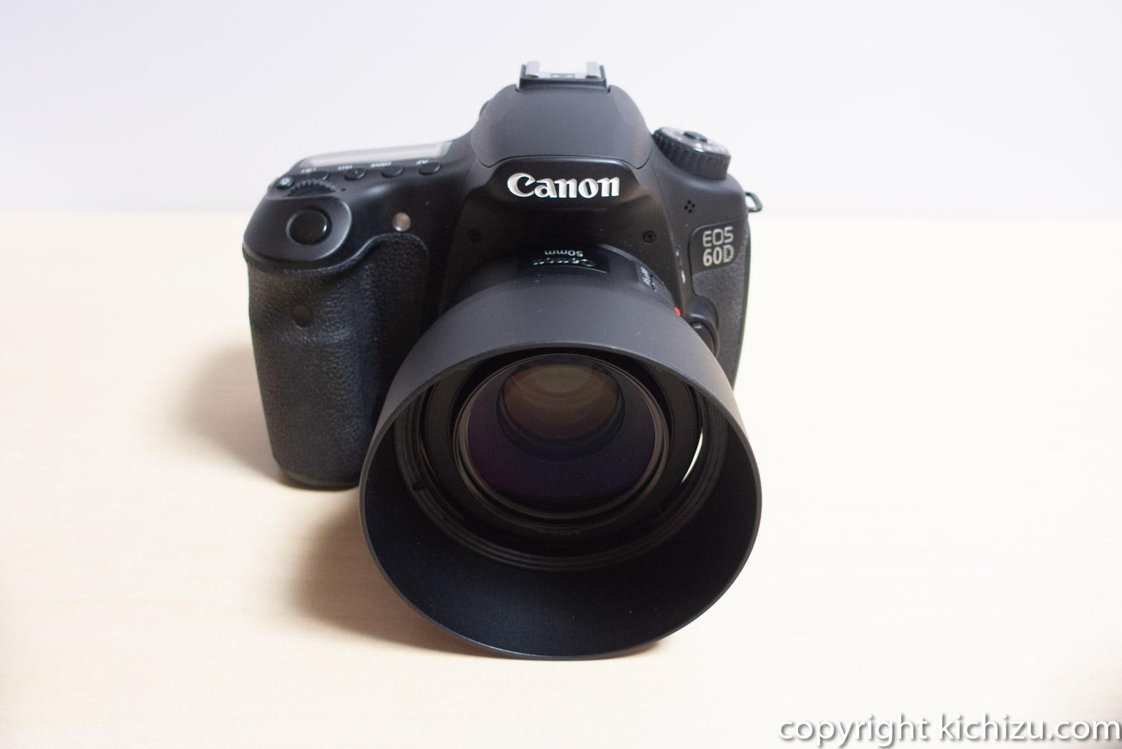 EOS60DとCanon 単焦点レンズ EF50mm F1.8 STM