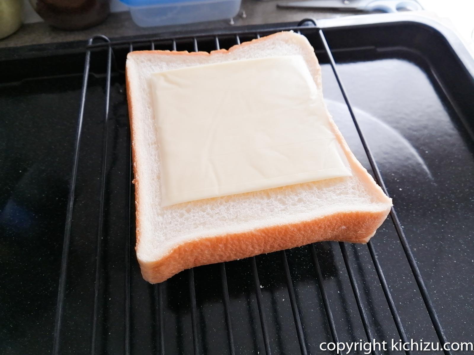 ヘルシオでトーストを焼く
