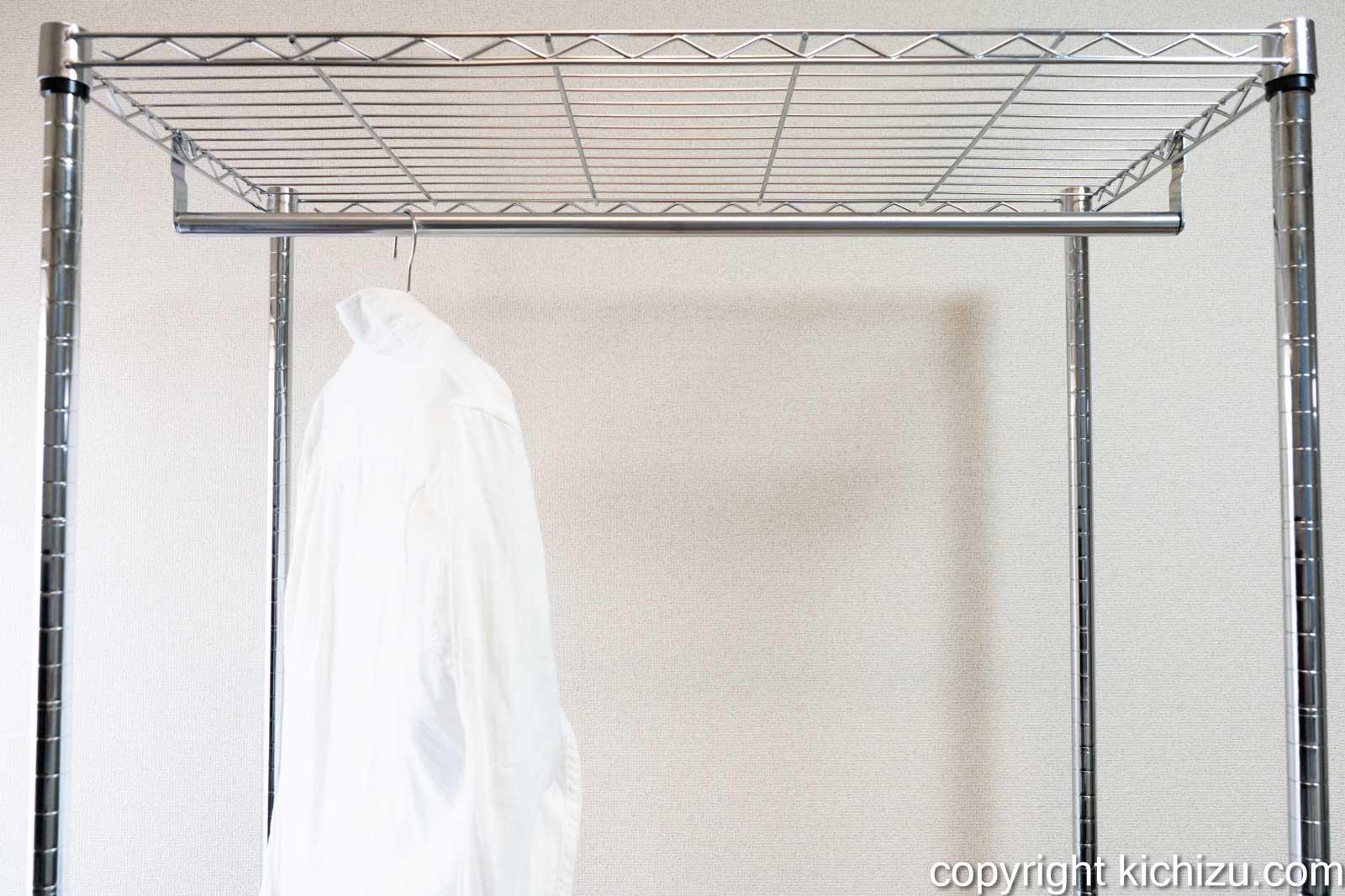ワイヤー棚板を取り付ける