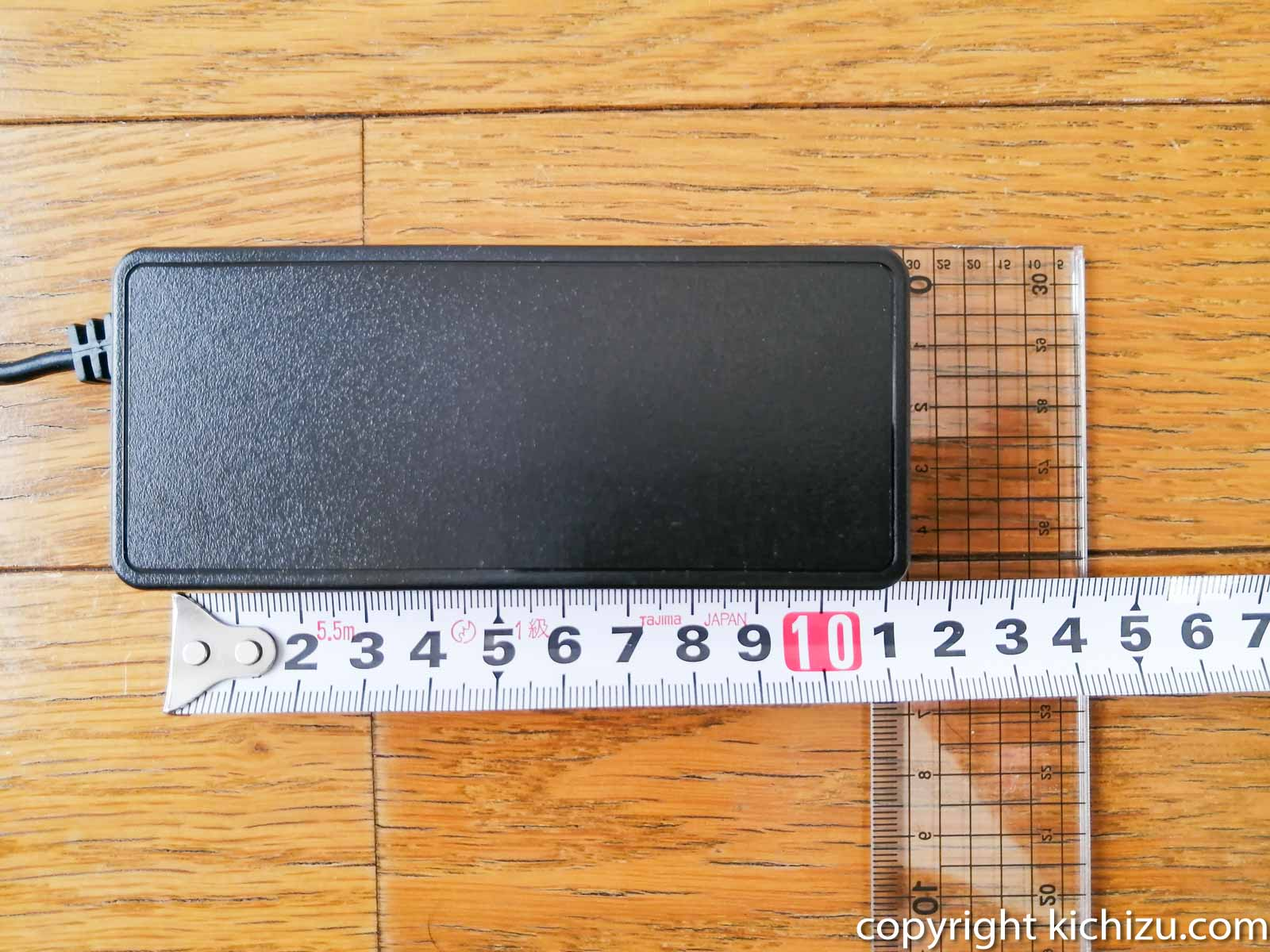 AC アダプターのサイズ