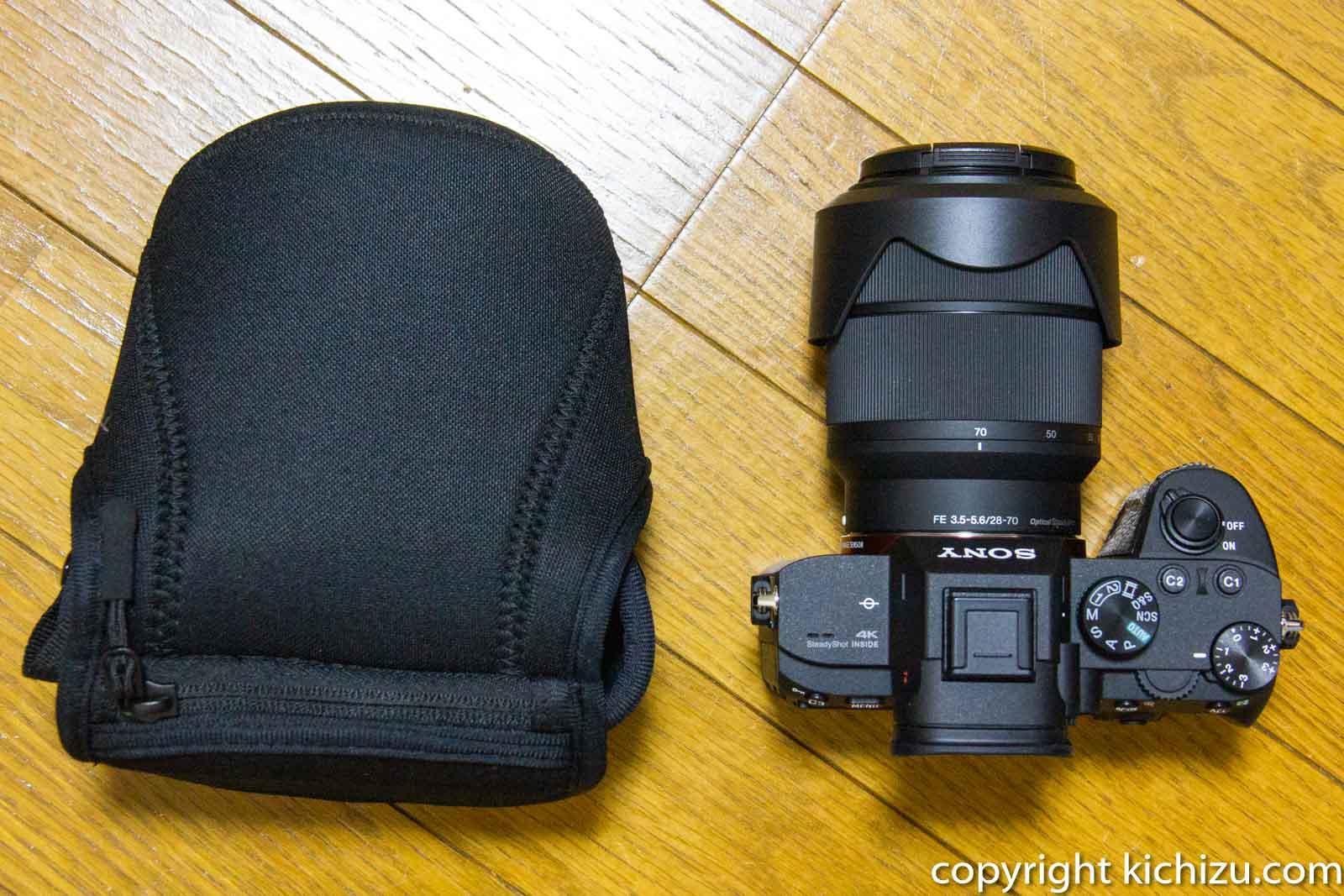 カメラケース M140とα7 III