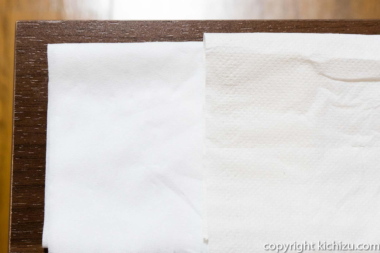 イオンとおしりセレブのトイレットペーパー表面